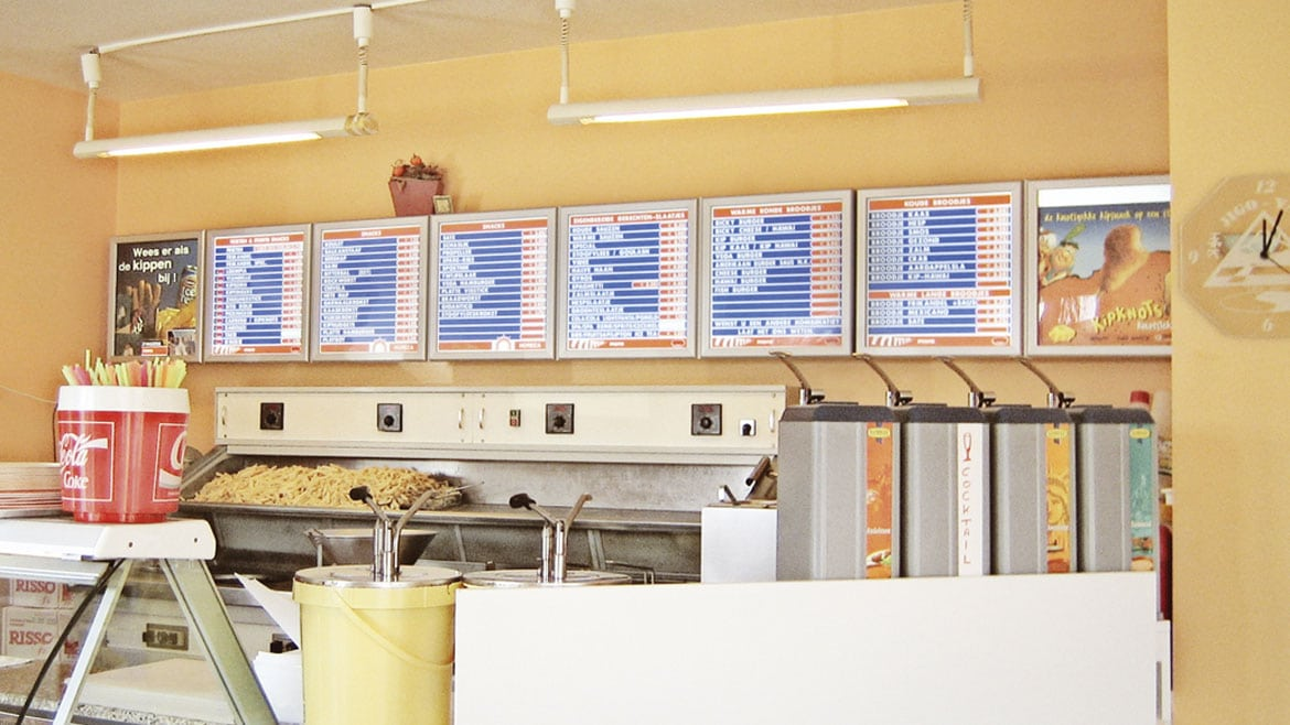 Food Industry - QSR Menu Light boxes