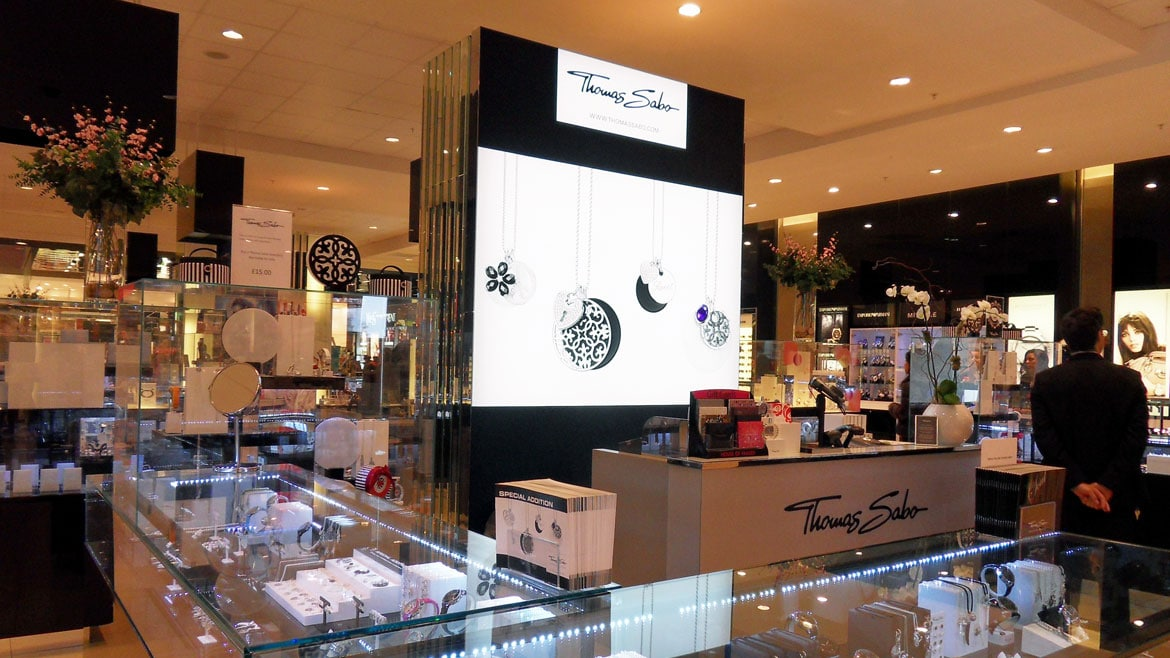 Thomas Sabo Fabric Face Light Boxes