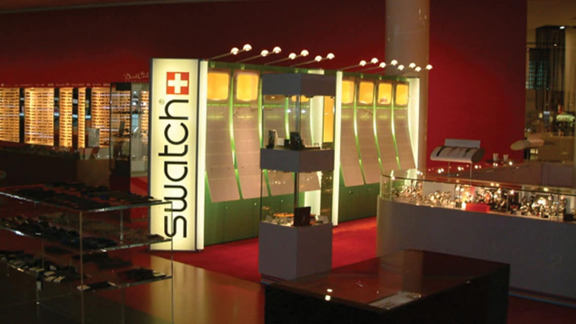 Swatch Light Boxes