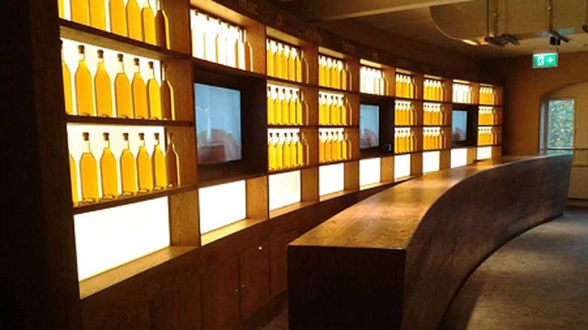 LED Feature Lighting for The Irish Whiskey Museum