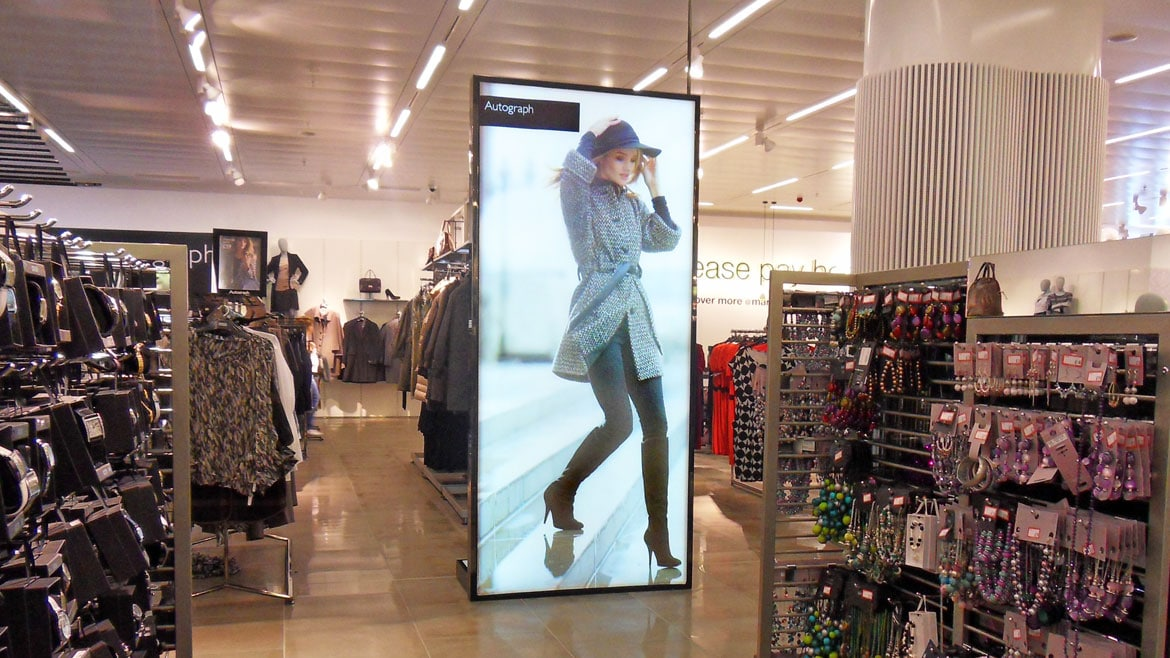 Marks and Spencer Lightboxes